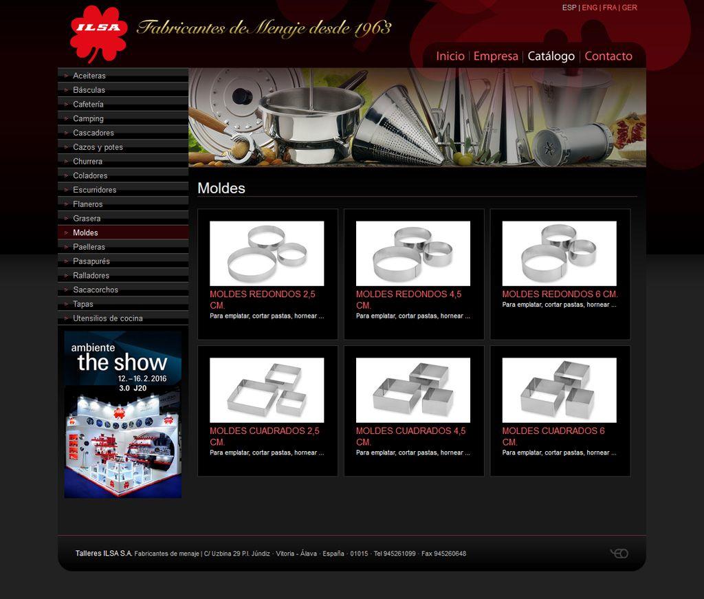 Ilsa - Diseño web Eloy Ortega
