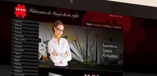Ilsa - Diseño web, Eloy Ortega