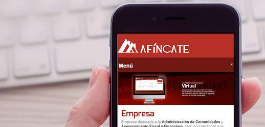 Afíncate - Diseño web Eloy Ortega