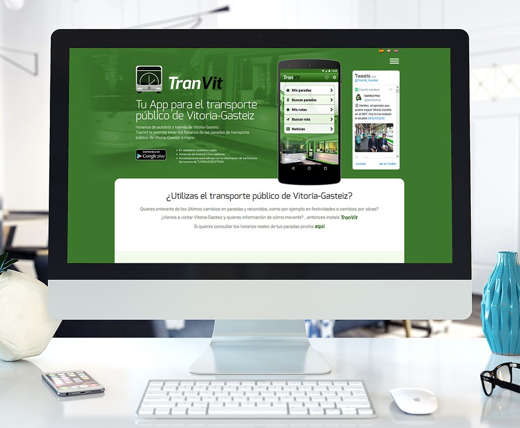 Tranvit - Diseño web - Eloy Ortega