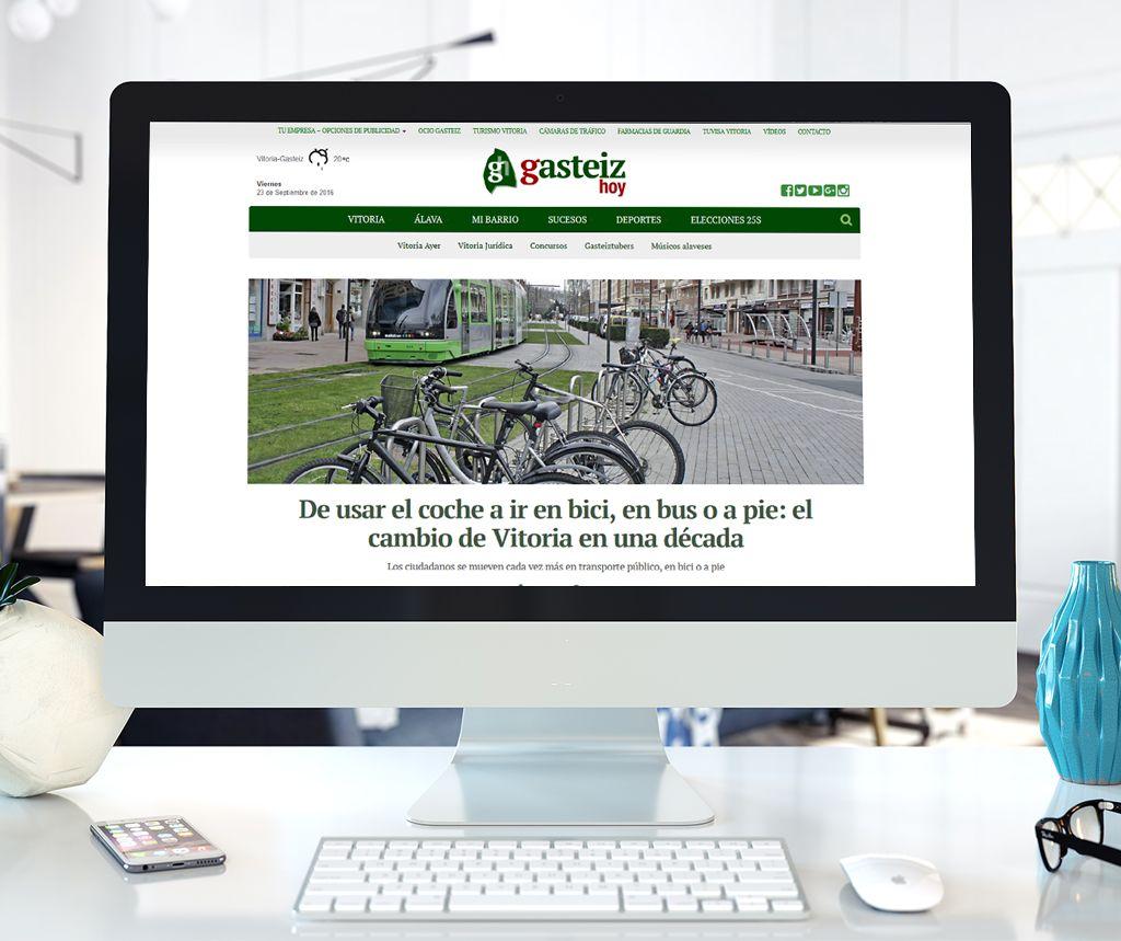 Gasteiz Hoy Diseño web