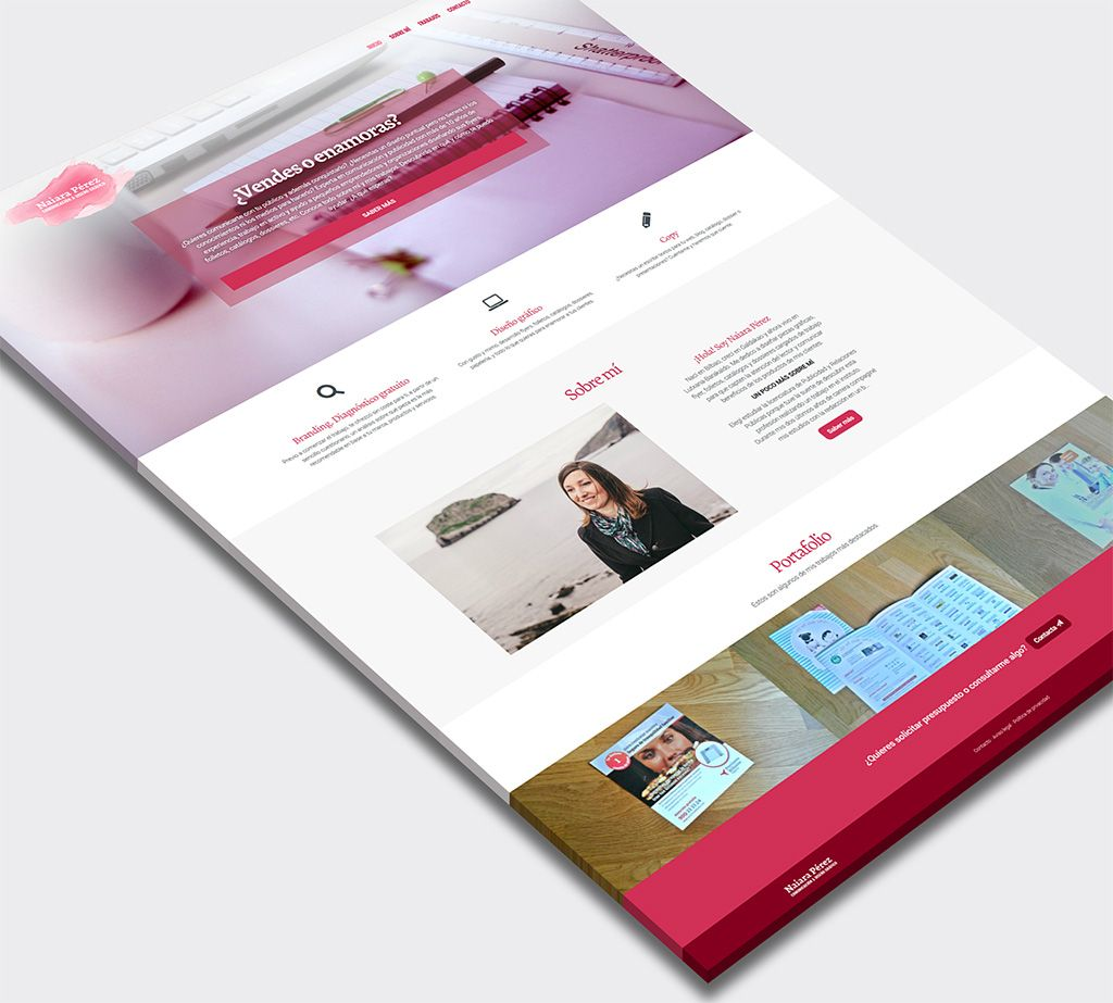 Naiara Pérez Diseño web