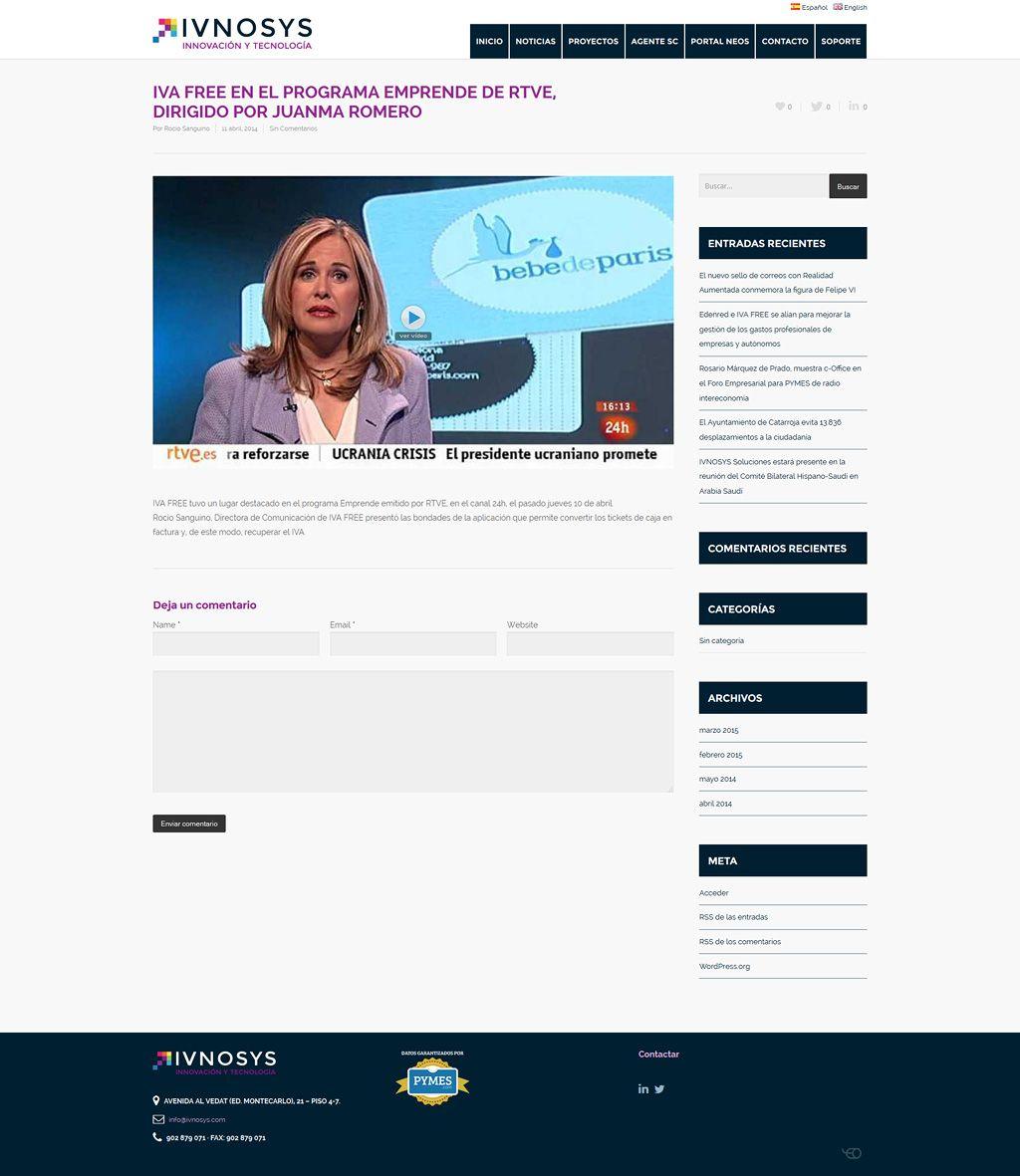 Diseño web Vitoria - Eloy Ortega
