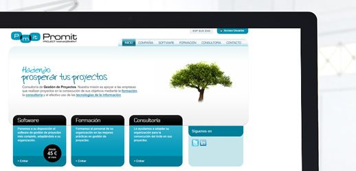 Promit - Diseño Web Eloy Ortega