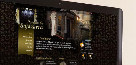 Posada de Sajazarra - Diseño web Eloy Ortega