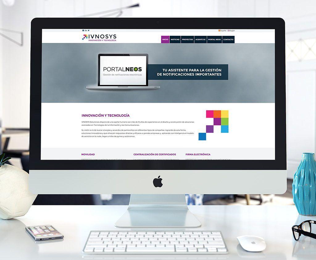 Ivnosys - Diseño web WordPress - Eloy Ortega