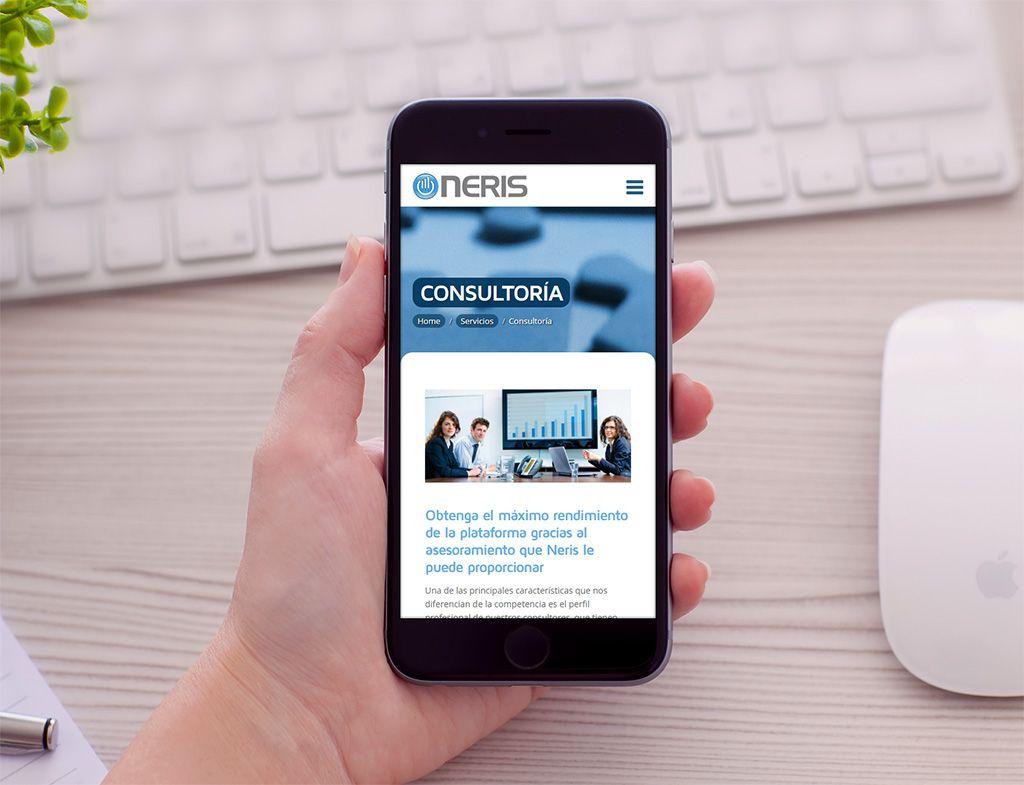 Neris Diseño web responsive Eloy Ortega