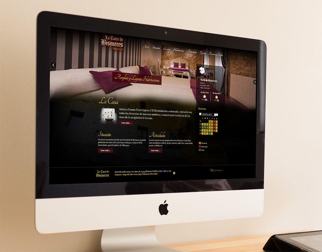 La Torre de Bisjueces - Diseño web Vitoria - Eloy Ortega