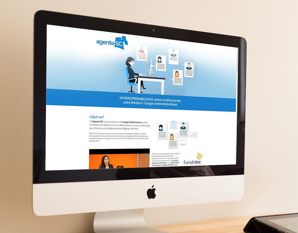 Agente SC - Diseño web Vitoria - Eloy Ortega