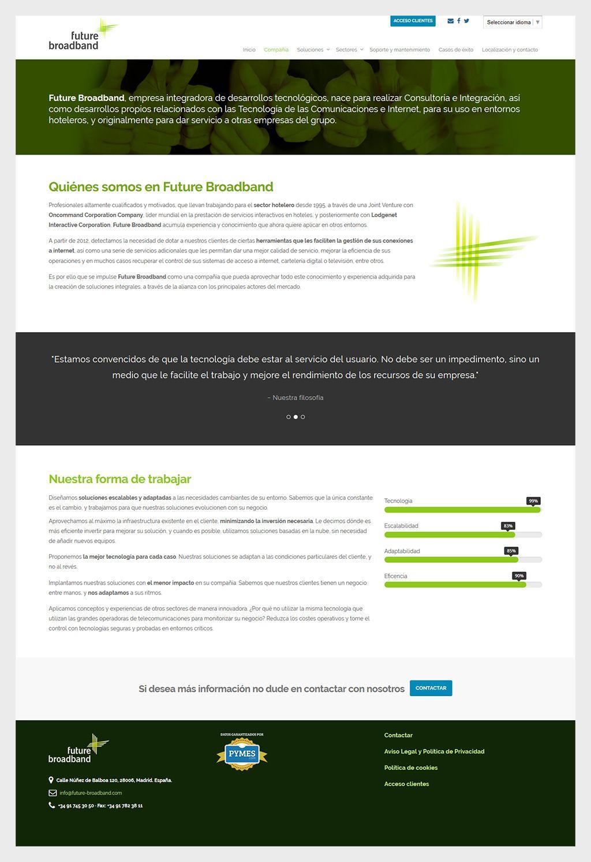 Future Broadband - Diseño web Eloy Ortega