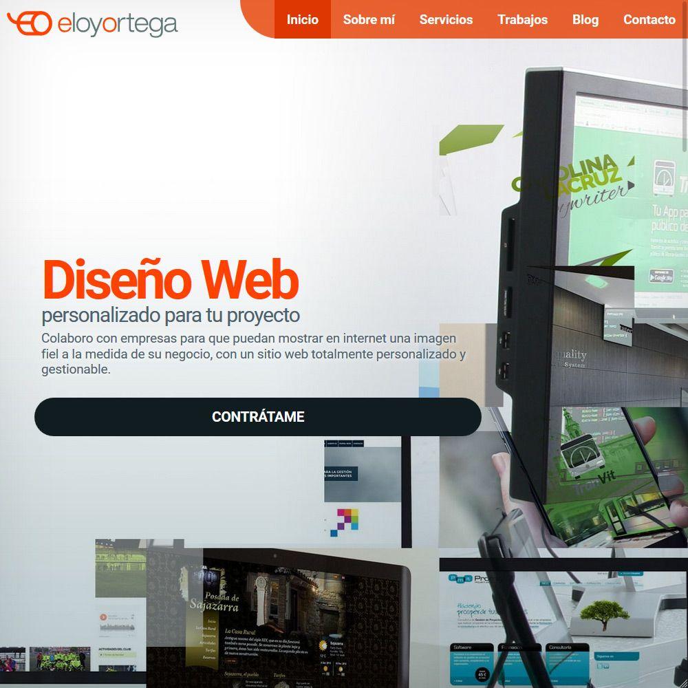 Fantástico Reanudar Sitios Web Ejemplos Galería - Ejemplo De ...